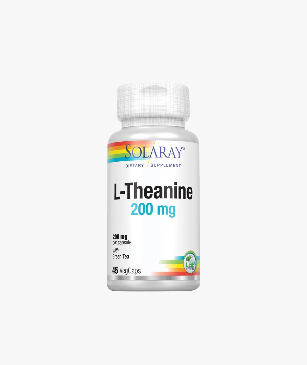 Solaray L-Theanine 200mg
