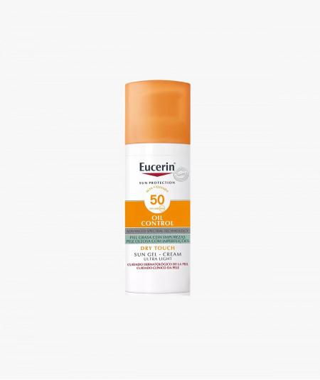 Eucerin Sun Gel Crema Oil Control Dry Touch