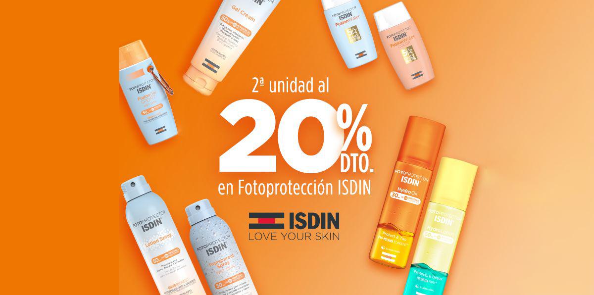 Oferta 20% ISDIN